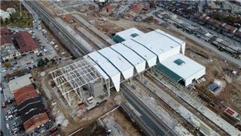 Konya Yüksek Hızlı Tren Garı inşaatı yıl sonuna kaldı