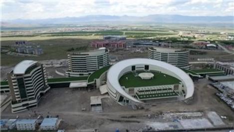 Erzurum Şehir Hastanesi'nde sona doğru