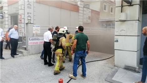 Esenyurt Gümüş Residence'ta yangın paniği!