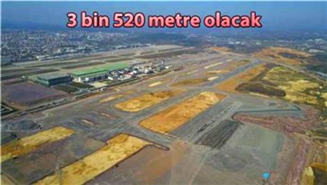 Sabiha Gökçen Havalimanı'nda 2. pistin yapımı sürüyor