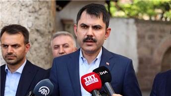 Bakan Kurum'dan Ankara'ya kentsel dönüşüm müjdesi!