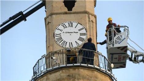 Çorum'daki Tarihi Saat Kulesi bakıma alındı