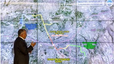 Belsin-Şehir Hastanesi metrosu Cumhurbaşkanı tarafından imzalandı