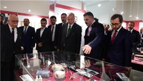 Cumhuriyet Tarihi Müzesi'nin açılışını Başkan Erdoğan yaptı