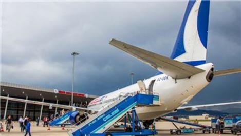 Bingöl Havalimanı 8 ayda 136 bin yolcu ağırladı