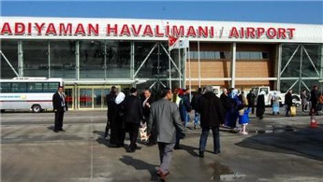 Adıyaman Havalimanı 1 ayda yaklaşık 22 bin yolcuya hizmet verdi