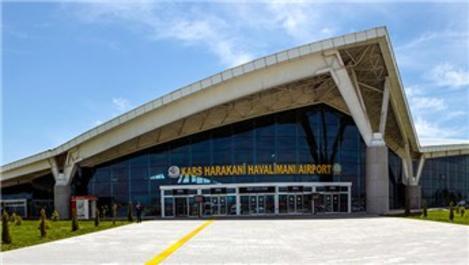 Kars Harakani Havalimanı'ndan 39 bin yolcu uçtu