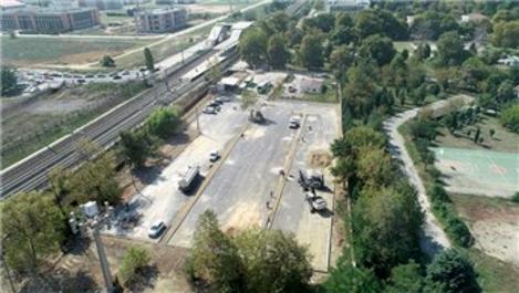 Gebze Fatih Tren İstasyonu'na 150 araçlık otopark inşa ediliyor