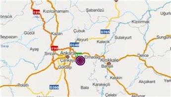 Ankara peş peşe 2 depremle sarsıldı!