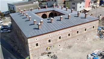 Samsun'daki 511 yıllık Taşhan'ın restorasyonu tamamlandı