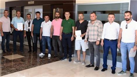 Antalya'da emlakçılara Mesleki Yeterlilik Belgesi verildi