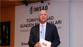 Levent Çakıroğlu, İMSAD Gündem Buluşmaları'nın konuğu oldu
