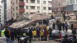 Kartal'da çöken bina davasında tutuklu sanığa tahliye