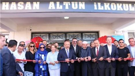 Hakan Altun, babasının adına Siirt'te okul yaptırdı