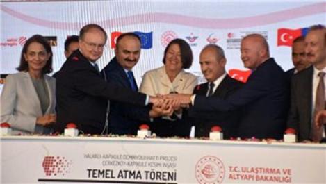 Çerkezköy-Kapıkule Demiryolu Hattı'nın temeli atıldı
