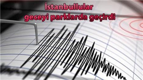 İstanbul'da 107 artçı deprem yaşandı