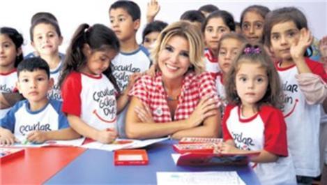 Gülben Ergen, Diyarbakır Bismil'e anaokulu açtı
