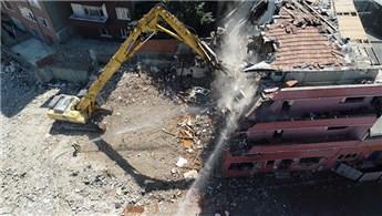 Kağıthane'de 122 çürük bina deprem gelmeden önce yıkıldı!