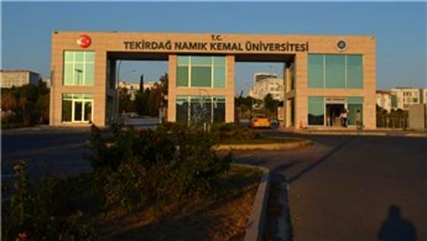 Namık Kemal Üniversitesi'nin hasarlı binası boşaltıldı
