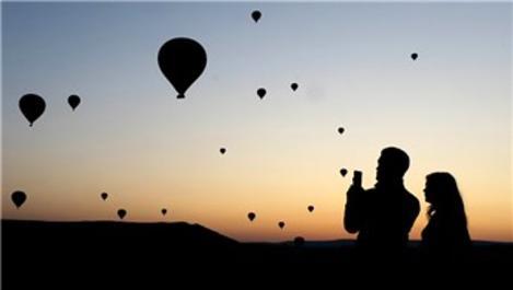 Kapadokya'yı Eylül ayında 380 bin 12 kişi ziyaret etti