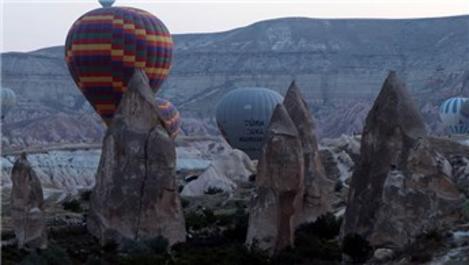 Kapadokya'yı 9 ayda 2 milyon 902 bin 390 turist ziyaret etti