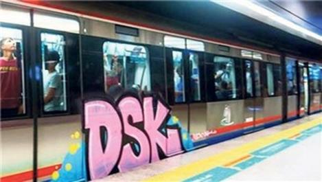Marmaray'da grafiti temizliği ihaleyle yapılacak