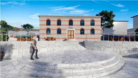 Balıkesir'deki Eski Baruthane, Millet Kıraathanesi olacak