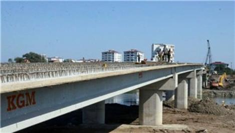 Ordu'da yapılan 236 metrelik köprü trafiğini rahatlatacak