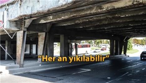 Unkapanı Köprüsü alt geçidi tehlike saçıyor