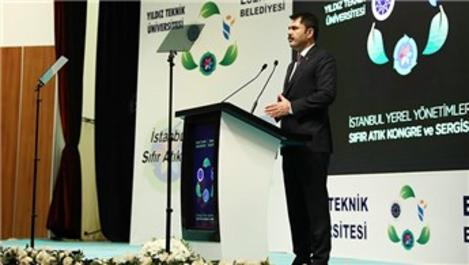 Murat Kurum, Sıfır Atık Kongresi'ne katıldı