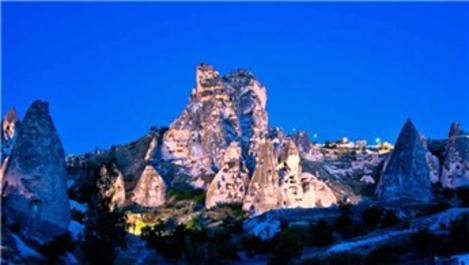 Uçhisar Kalesi, 9 ayda 256 bin ziyaretçi ağırladı