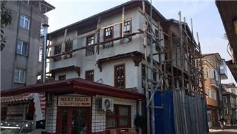 Kocaeli Çıpalı Konak'ın restorasyonu hızla devam ediyor