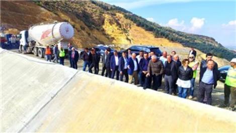 DSİ Genel Müdürü Mevlüt Aydın, Çay Barajı'nı inceledi