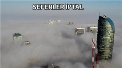 İstanbul'da deniz ulaşımına sis engeli!