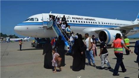 Trabzon'a inen yabancı uçak sayısında artış!