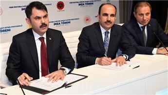 Bakan Kurum, Yeni Motorlu Sanayi Bölgesi için imzayı attı!