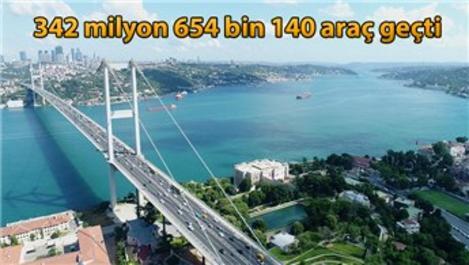 Köprü ve otoyollar yaklaşık 1,5 milyar lira kazandırdı!