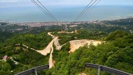 Karadeniz'in en uzun teleferiğini 44 bin kişi kullandı