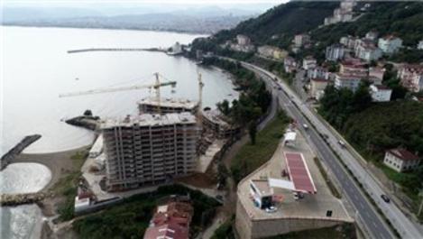 Ordu'da deniz kıyısındaki binalar yıkılacak