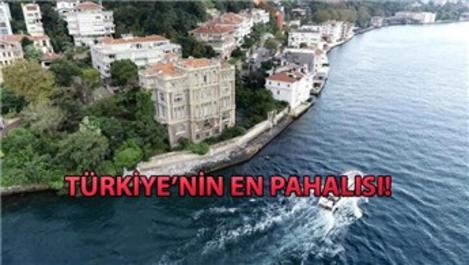 Zeki Paşa Yalısı 550 milyon TL'ye satışa çıkarıldı