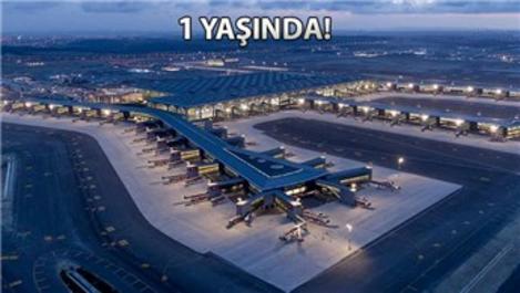 İstanbul Havalimanı 1 yılda 40 milyon yolcu ağırladı