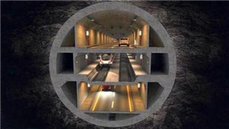 Üç Katlı İstanbul Tüneli'nin ihalesi 2020'de yapılacak