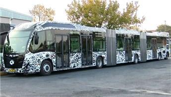 Yeni metrobüslerin test sürüşü başladı!