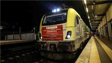 Çin yük treni Marmaray'dan geçti!