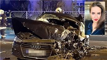 Polat Holding'ten Habibe Aloğlu trafik kazası geçirdi!