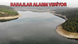 İstanbul'da barajların doluluk oranı yüzde 39'a düştü
