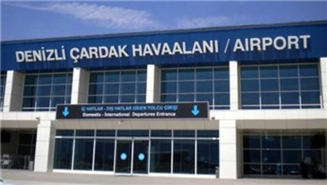 Çardak Havalimanı'ndan Ekim ayında 61 bin 159 yolcu uçtu