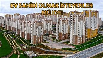 TOKİ'den 22 ilde 335 TL taksitle ev!