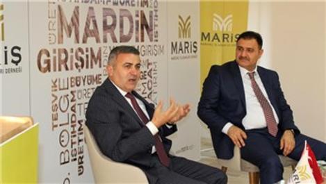 MARİŞ, Fuzulev Yönetim Kurulu Başkanı Eyüp Akbal'ı ağırladı