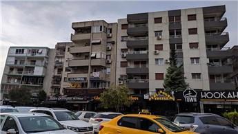 İzmir'deki eğik binalar tahliye ediliyor